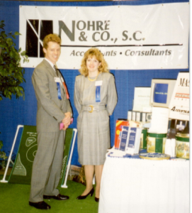Nohre & Co, Eau Claire, Wisconsin, Certified Personal Accountants, Consultants, Business Expo
