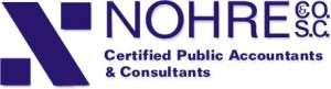Nohre & Co, Eau Claire, Wisconsin, Certified Personal Accountants, Consultants, Rebrand